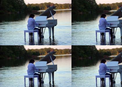 CELEBRITY PIANO HANDS™ PART V: JESUS