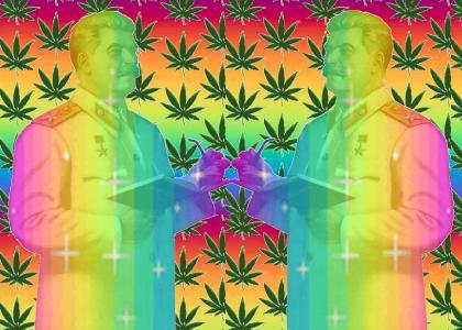 Double Rainbow Stalin High