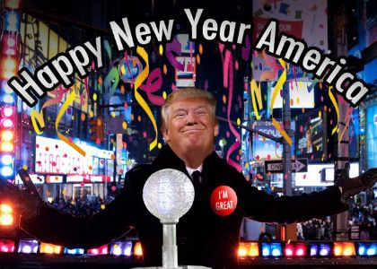 Trump to New Year's Eve guests: 2018's 'going to be something very, very special'