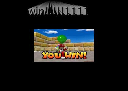 you win mario!