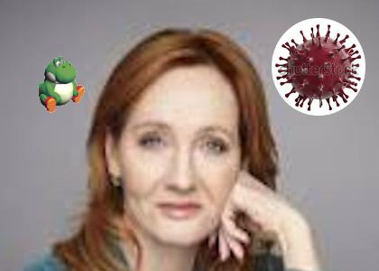 JK Rowling catches the corona virus