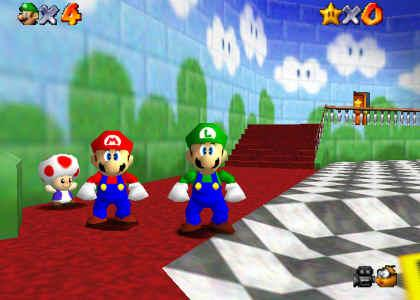 That Time Some Players Thought Luigi Was In Super Mario 64