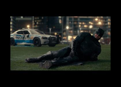 Batman's hurt