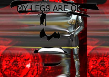Legs are in a good shape