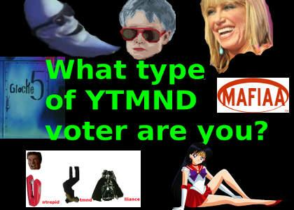 Which type of YTMND voter are you?