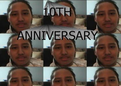 Chad Warden announces his 10th anniversary