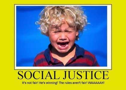 Social Justice Warrior Bingo