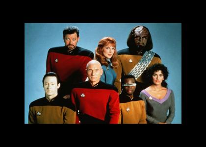 Here's to the finest crew in Starfleet