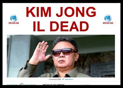 Poor rittle Kim Jong il is dead