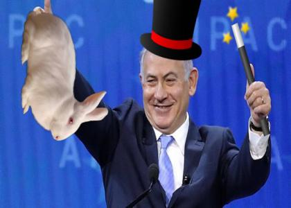 Netanyahu the magician