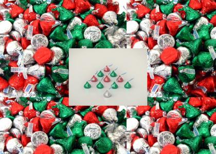 Hershey's Kisses Christmas
