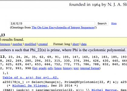OEIS sequence A250178