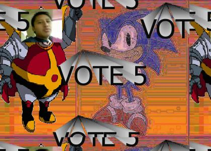 Sonic tries to give advice but Chad Wardenn, Vadre, and Khann! have louder voices and talk over him.