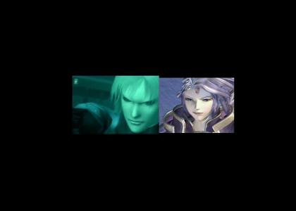 Raiden and Kuja.  Separated at birth?