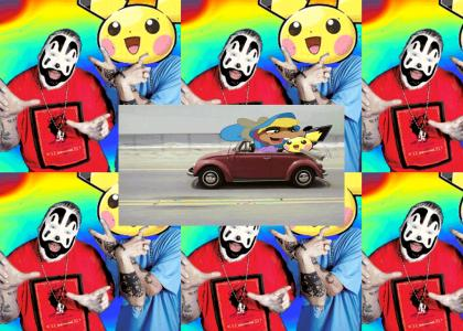 pichu gets into the car and passes partyy mouse a magic psychedelic joint