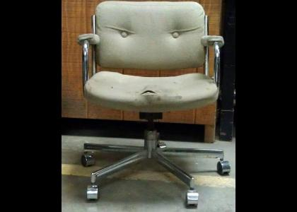 Angry Chair! }:-<