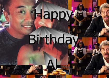 Happy Birthday Al Araneta
