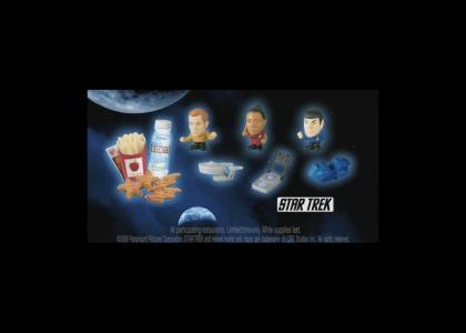Burger King® LimitedTimeOnly™ Star Trek toys