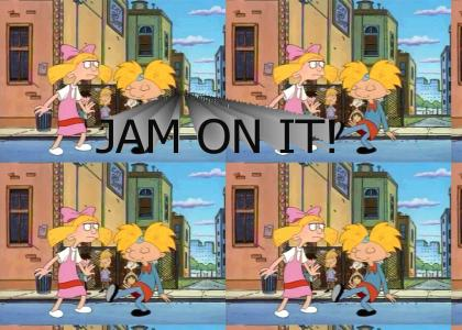 Arnold tap dances