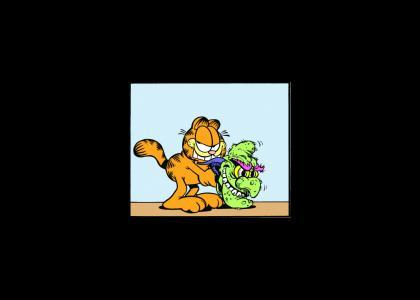 Garfield comics just got interesting