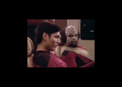 Worf has no class