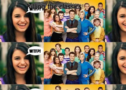 Glee has one weakness
