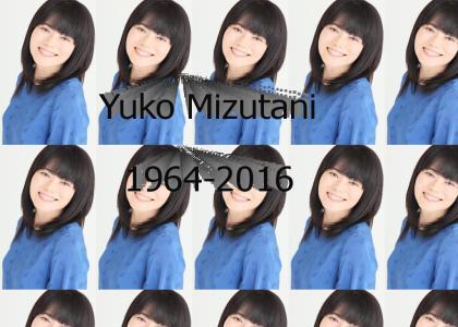 Ten bell salute for Yuko Mizutani
