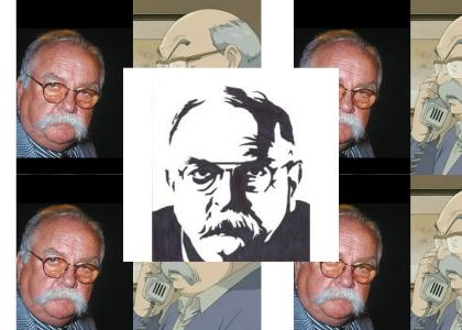 Wilford Brimley Never Changes Facial Expressions