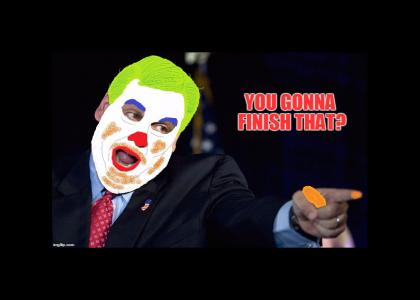 Clowny Chris Christie