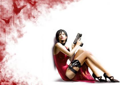 Resident Evil- Ada Chills
