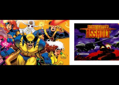 Fox Kids X-Men X Aero Fighters Assault