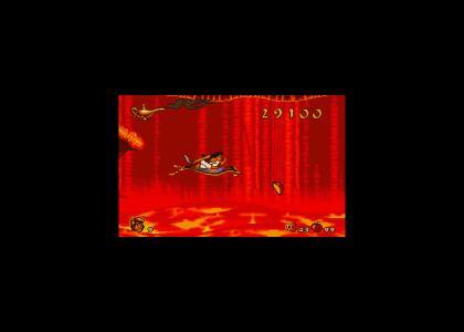 Can't break Aladdin's stride