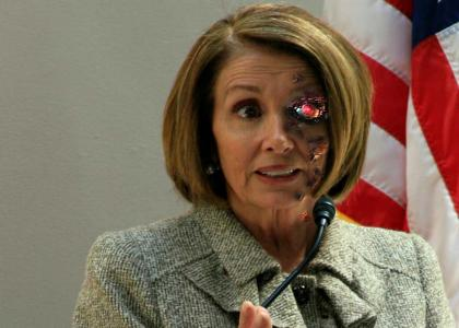 Nancy Pelosi T-800