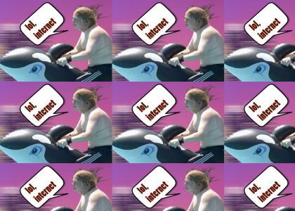 fatman on whale