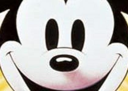Mickey Mouse stares into your soul
