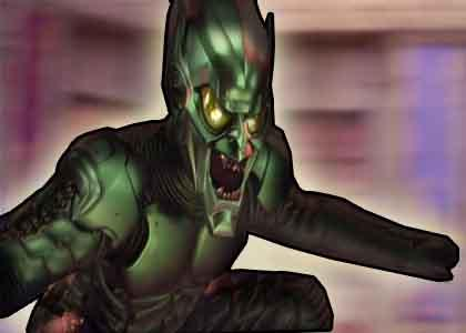 Green Goblin's got the power
