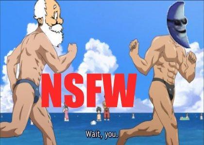 (nsfw) Santabot and Moon man rebel against the Goldberg Agenda