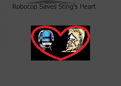 Robocop Saves Stings Heart