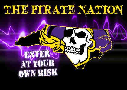 ECU Pirates football season is here!!!!!!!!!!