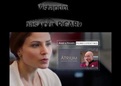 Vista Print Has your PiCARD!