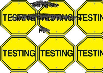 serutan's test site