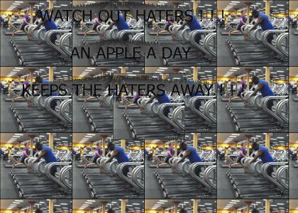 An Apple a Day Keeps the Haters Away