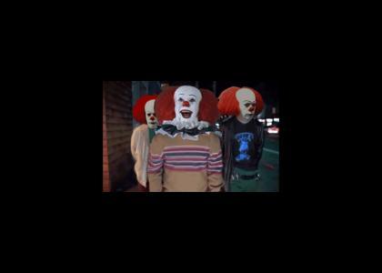 when i clown around