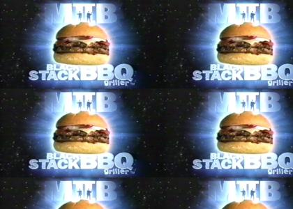 Men In Black II Burger King® BlackStack™ BBQ Griller