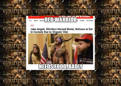 Red Warrior Needs Food, Badly