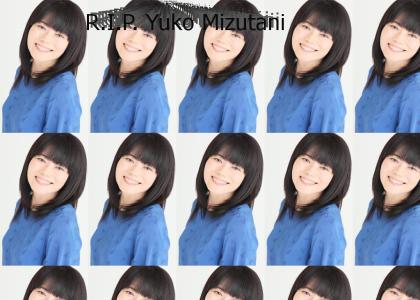 Zero reacts to Yuko Mizutani's death