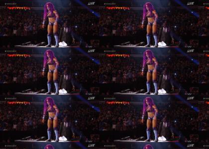 Epic WWE Alexa maneuver