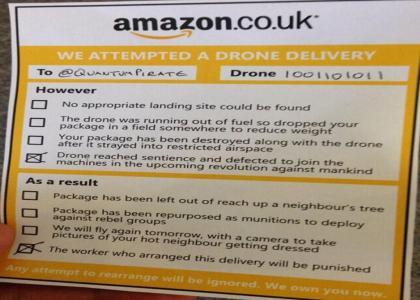 (nsfw) Amazon PrimeAirz Dronerz™