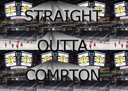 The Blackhawks are straight outta Compton
