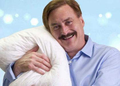 My Pillow Guy Stares Into Your Soul